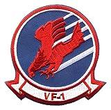 ミリタリーワッペン アメリカ軍パッチ VF-1 MAVERICK, TOPGUN (ノーマル仕様) [並行輸入品]