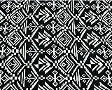 Luna Corazon ハンドメイド ジャガード織り ネイティブ柄 カット生地 手作り DIY 生地 幅 150cm (A柄 50cm)