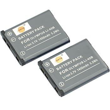 DSTE® アクセサリ Olympus LI-40B LI-42B KLIC-7006 EN-EL10 D-LI108 NP-45 互換 カメラ バッテリー 2個 対応機種 D-720 D-725 FE-220 FE-230 Z33WP Z200fd Z20fd Z100fd