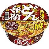 日清 どん兵衛 黒酢酸辣湯うどん 97g ×12個