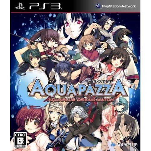 AQUAPAZZA -AQUAPLUS DREAM MATCH- (通常版)予約特典『AQUAPAZZA』特製A4クリアファイル&アマゾンオリジナルA4クリアファイル付き - PS3