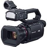 パナソニック 4K ビデオカメラ X2000 SDダブルスロット 光学24倍ズーム ハンドルユニット同梱 ブラック HC…