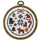 刺繍 キット 藤久オリジナル Chrismas Cross stitch kit モチーフコレクション
