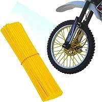 スポークカバー 72本セット スポーク バイク/自転車/オートバイ用 スポークスキン スポークラップ スポークガード ホ…