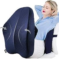 Ylin 腰クッション 腰痛 背もたれ 腰枕 車 クッション 低反発 最新型ランバーサポート オフィス 腰痛クッション…