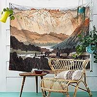 タペストリー、シーツ毛布中国の絵画タペストリー布ポリエステル壁の壁紙印刷タオル家の壁の装飾テレビの壁の壁のベッドルーム居間の布 (Color : 006, Size : 200cm*150cm)