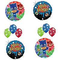PJ Mask Happy Birthday Balloon Bouquet [並行輸入品]