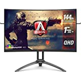 "AOC Agon 31.5"" AG323QCXE 144Hz FreeSync2 Curved Monitor"