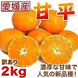 【送料無料】訳あり甘平 2kg 愛媛県産【人気の贅沢みかん】