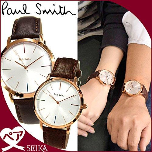 (ペア価格) ポールスミス PAUL SMITH ペアウォッチ P10053 メンズ P10101 レディース 時計 腕時計 [並行輸入品]