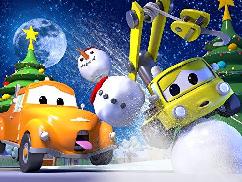 クレーン車のベイビーチャーリーがクリスマスツリーに突っ込んじゃった!& 救急車のアンバーのエンジンがつかない!?
