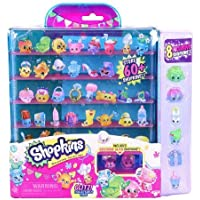 Shopkins season 4 Glitzi collectors case with 8 exclusive shopkins [並行輸入品]