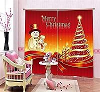 Sproud Modernchristmas の装飾の子供の寝具の部屋のリビングルームホテルのカーテンを Cortinas パラサラの 3 D の遮光カーテンの印刷-240Cmx240Cm