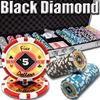 Brybelly Holdings psc-0304 600 CT。ブラックダイヤモンド14グラムポーカーチップ – 9 Denominations