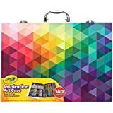 CRAYOLA 230926 Inspiration Art Case: 140 Pieces, Deluxe Set with Crayons, Pencils, Markers and Paper in a Portable Storage Ca