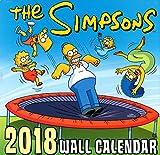 シンプソンズ 2018年 カレンダー 壁掛け TheSIMPSONS バート ホーマー グッズ 可愛い 子供部屋 キャラクター お洒落 インテリア