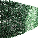ottostyle.jp グリーンフェンス 緑のカーテン 約2m×1m ソフトネットタイプ 目隠し リーフフェンス フェイクグリーン 日よけ サンシェード コンポジット