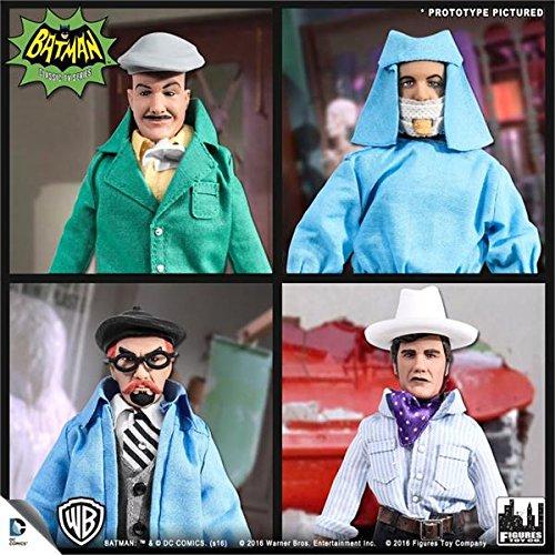 バットマン 1966 TVシリーズ/ レトロ 8インチ アクションフィギュア ヴィラン シリーズ: 4種セット