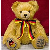 ドイツ統一25周年記念テディベア■グリーンハーマン社 限定テディベア [並行輸入品]