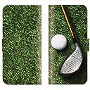 【 ankh 】 手帳型ケース 全機種対応 【 GALAXY Note3 SC-01F ギャラクシー ノート3 SC-01F専用 】 ゴルフ スポーツ マスターズ 父親 プレゼント ラウンド アイアン ブック型 二つ折り レザー 手帳カバー スマホケース スマートフォン