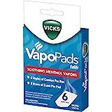 Vicks VapoPads VSP-19 Refill Pads, 6 count
