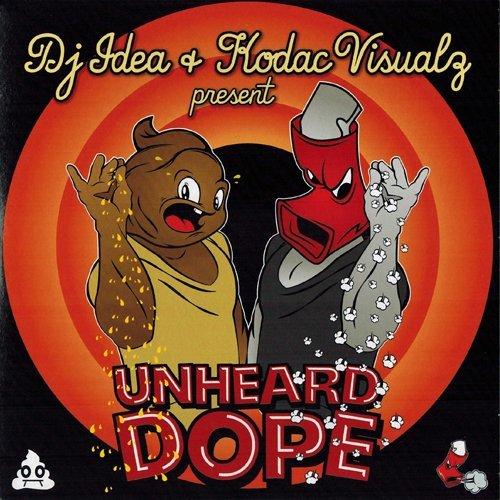 "DJ Idea + Kodac Visualz - Unheard Dope バトルブレイクス 7"" レコード"