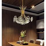Chandelier/Crystal Light Ceiling Light/Restaurant Bar Hotel Living Room Bedroom Chandelier/Warm Light G4 Light Source * 13 /
