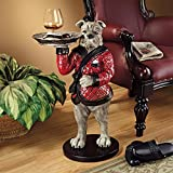 Design Toscano VG12427 Rex-The Bachelor Bulldog Sculptural Table