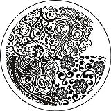 Amazon.co.jpノーブランド 1枚 ミックス花デザインイメージプレートスタンプネイルアートスタンピングプレートイメージプレートスタンプアートネイル用品ネイルアートキットネイルアート [並行輸入品]