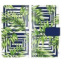【 iris 】 手帳型ケース 全機種対応 【Xperia X Compact SO-02J専用】 ボタニカル ハワイ ハワイアン 海外 トレンド ネイティブ かわいい ストライプ ブック型 二つ折り レザー 手帳カバー スマホケース スマートフォン
