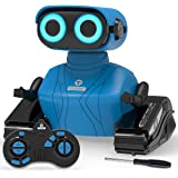 KaeKid RC Robot Kids Toy, 2.4GHz Remote Control Car with Sound and Light, Robot Children Toys Birthday Gifts, RC Toys for 3 4