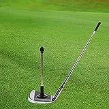 ゴルフスイング、磁気アライメントスティックを目指す
