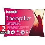 Dunlopillo Therapillo 2 Pack Premium Memory Foam Pillow (Medium Profile)