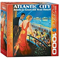 Eurographics Atlantic City: America's Great Year Round Resort 1000 Piece Jigsaw Puzzle (small box) [並行輸入品]