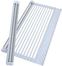 factus 水切りラック 折りたたみ キッチン 食器 シリコン 箸置き付 コンパクト収納 32.5×52cm