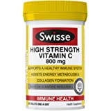 Swisse Ultiboost High Strength Vitamin C Supplement, 60ct