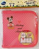 ディズニー ミッキー & ミニー CDケース ピンク 【Mickey & Minnie】 24枚収納