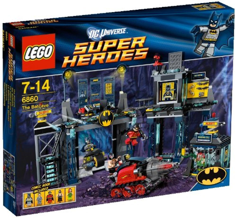 レゴ (LEGO) スーパー?ヒーローズ バットケーブ 6860