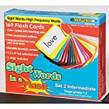 Best Edupressカードゲーム - Sight Words in a Flash、フラッシュカード、中間のセット(169 ) Review