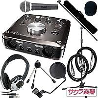 TASCAM タスカム オーディオインターフェース US-366-CU サクラ楽器オリジナル レコーディングスターターセット