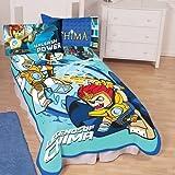 LEGO Legends of Chima Twin Blanket Bedding [並行輸入品]