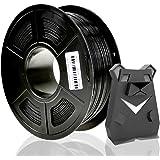3D プリンター 用PETGフィラメント,PETG樹脂1.75mm黒 スプール1kg,petg ブラック