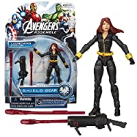 Hasbro Year 2013 Marvel Avengers Assemble S.H.I.E.L.D. Gear Series 4 Inch Tall Action Figure - Inferno Cannon BLACK