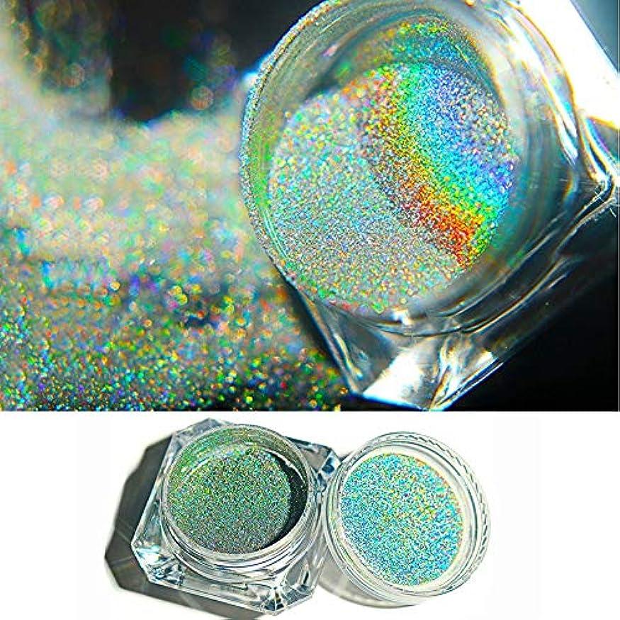 セクタ若者新年Artlalic 0.5グラムカメレオンネイルグリッターダストミラー効果ネイルアートクローム顔料ホログラフィックネイルパウダーマニキュア装飾