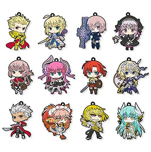 Fate/Grand Order トレーディングラバーストラップ コンプリートBOX BOX商品 1BOX = 12個入り、全12種類