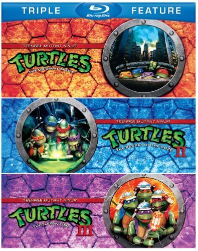 Teenage Mutant Ninja Turtles / Teenage Mutant Ninja Turtles II: The Secret of the Ooze / Teenage Mutant Ninja Turtles III: Turtles in Time (Triple Feature) [Blu-ray] by Judith Hoag