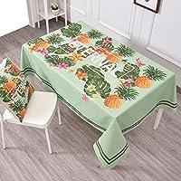 エッジへ カ テーブルクロステーブルクロステーブルクロス 新鮮なパスタのテーブルクロス布のリネンラウンドテーブルレストラン四角いテーブルクロスのリビングルームのコーヒーテーブルクロス ( 色 : A2 , サイズ さいず : 140*180CM )