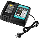 Li-ion Battery Charger DC18RC for Makita 14.4V-18V LXT Lithium-ion Battery BL1815 BL1820 BL1830 BL1850 BL1840 BL1430 BL1415 w