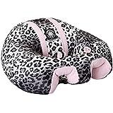 The Original Hugaboo Infant Sitting Chair - Pink Snow Leopard