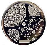 Amazon.co.jp1枚 テクスチャ 木の葉 花イメージプレートスタンプイメージプレートスタンピングネイルアート [並行輸入品]